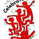 Celebrate! in Red by Mike HobsoN