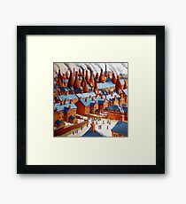 Going to Work. Framed Print