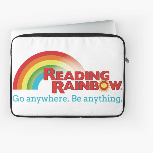 Reading Rainbow Laptop Sleeve