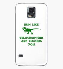 Run Like Velociraptors Are Chasing You Case/Skin for Samsung Galaxy