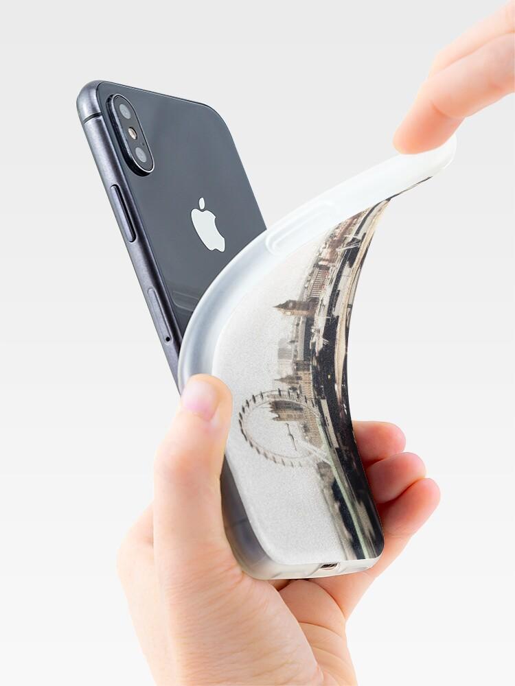 Alternative Ansicht von Sherlock's London iPhone-Hülle & Cover