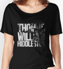 Thomas William Hiddleston Women's Relaxed Fit T-Shirt