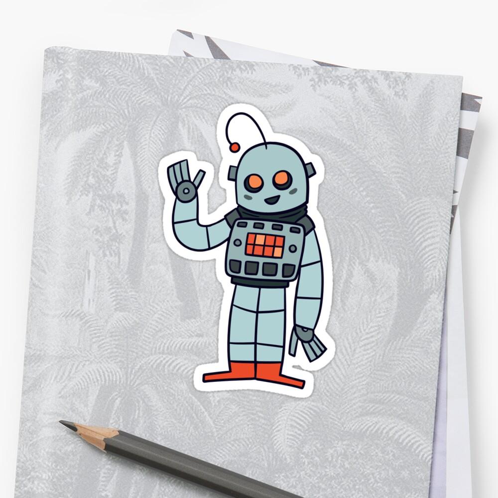 Happy Robot by ssamdee