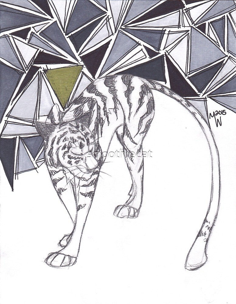 Greyscale Tiger by smoothiecat