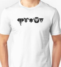 Afrika Tiere Big Five Unisex T-Shirt