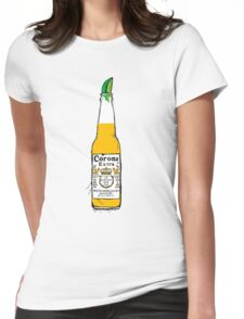 Cerveza Womens Fitted T-Shirt
