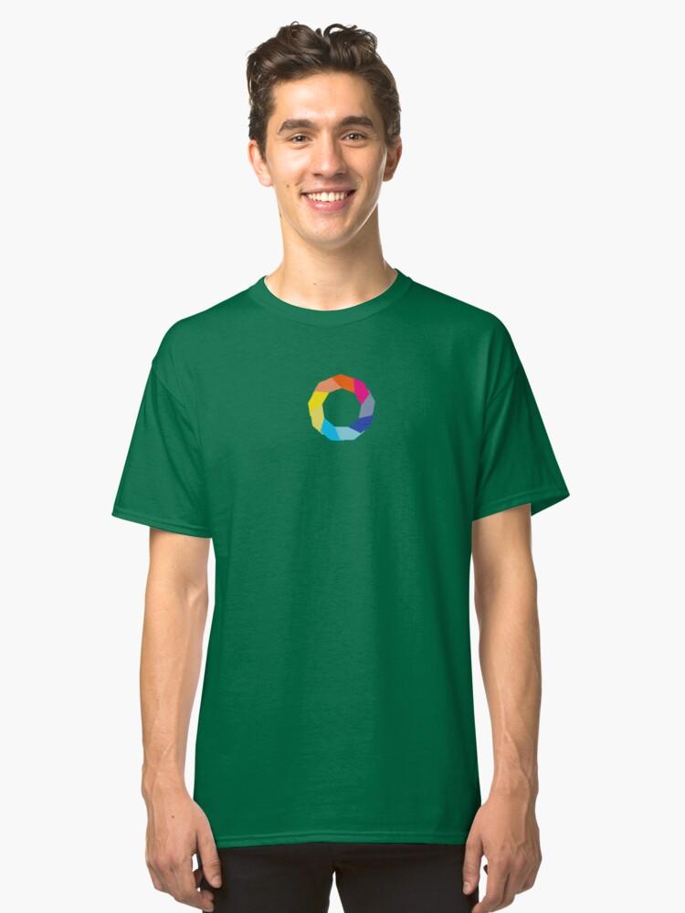 iopan Rainbow for Gaza Classic T-Shirt Front