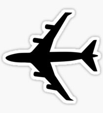 Airplane plane Sticker