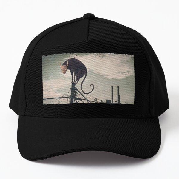 Surreal cat Baseball Cap