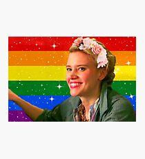 Jillian Holtzmann Gay Flag Photographic Print