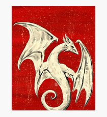 White Dragon Photographic Print