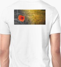 The fields of gold - rememberance Unisex T-Shirt