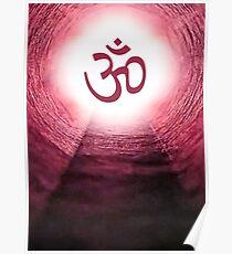 Hinduism Pranava (Aum) Poster
