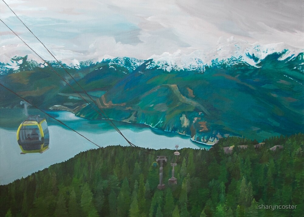Sea to Sky Gondola by sharyncoster