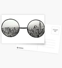 the view Postcards