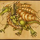 Green Dragon by MishMonster