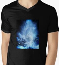 Jon Snow and Ghost - Spiel der Throne - Der Winter ist da T-Shirt mit V-Ausschnitt