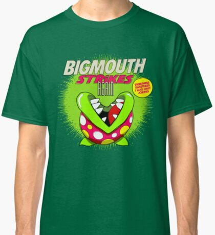 The 80's 8-bit Project - The Big Mouth Classic T-Shirt