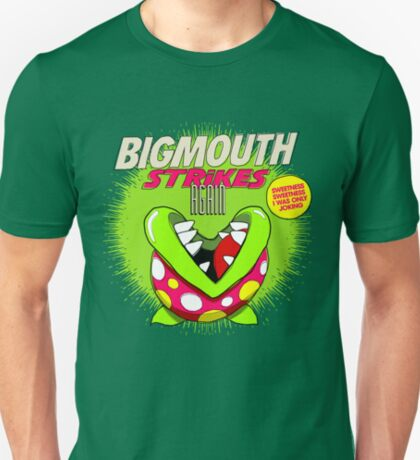 The 80's 8-bit Project - The Big Mouth T-Shirt