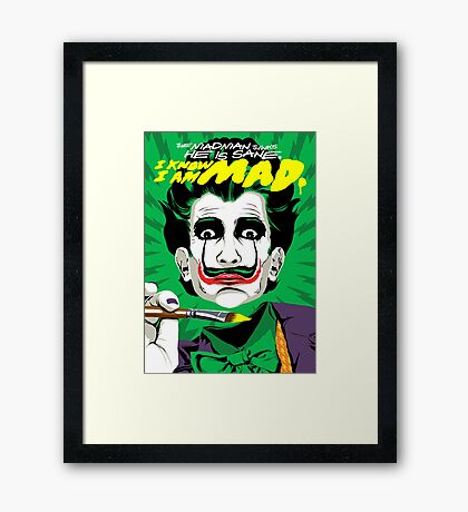 The Madman Framed Print