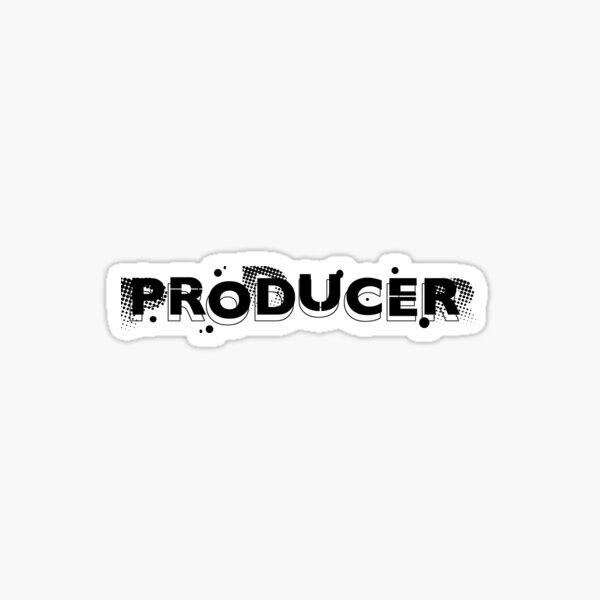 Film crew. Producer. Sticker