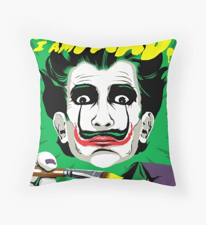 The Madman Throw Pillow