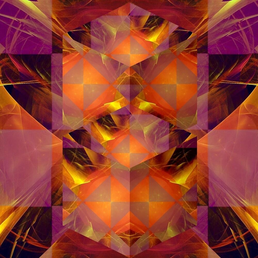 Fractured Fractal by Dana Roper