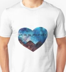 go on an adventure Unisex T-Shirt