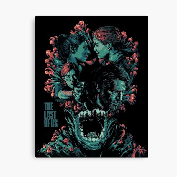 The Last of Us Joel and Ellie Family Canvas Print