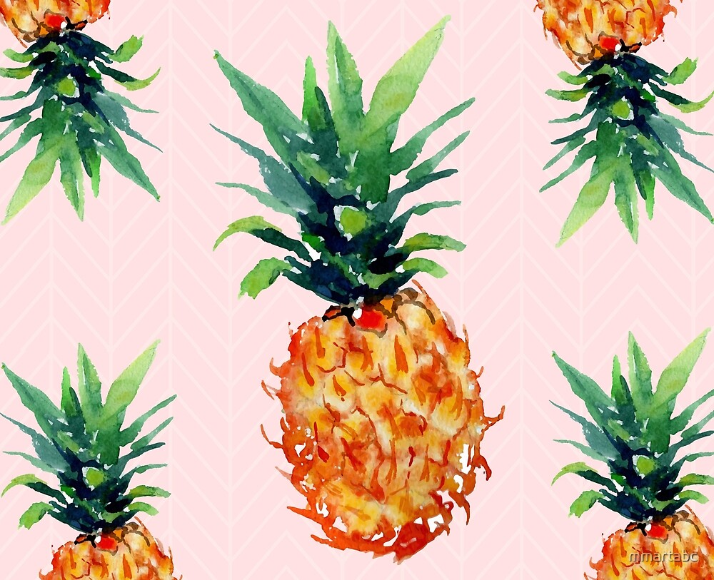 pineapples by mmartabc