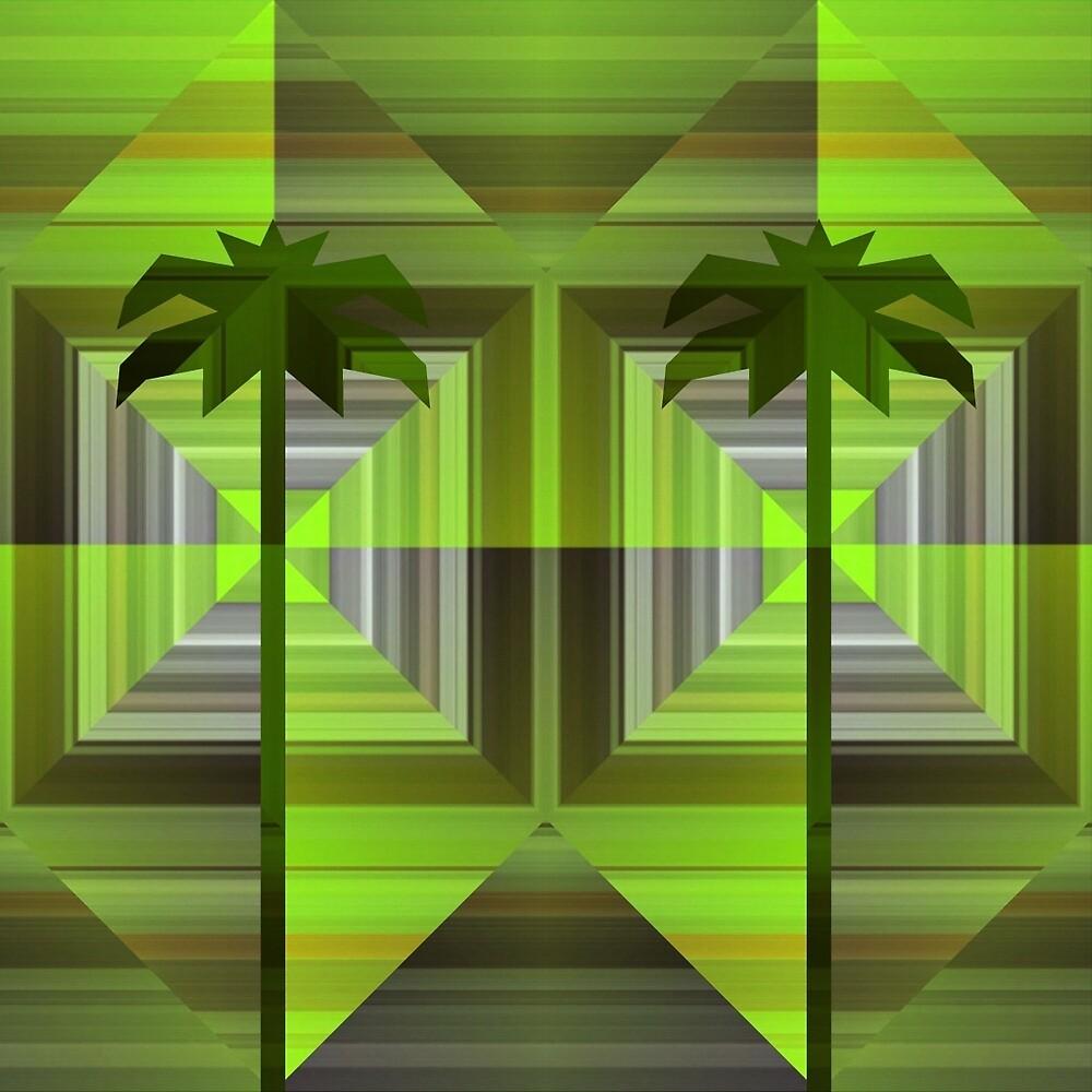 Twin Palms by Dana Roper