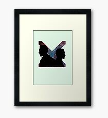 Rage & Serenity Framed Print