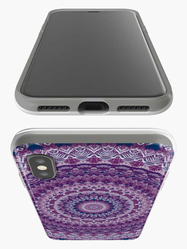Vista alternativa de Funda y vinilo para iPhone Mandala 123
