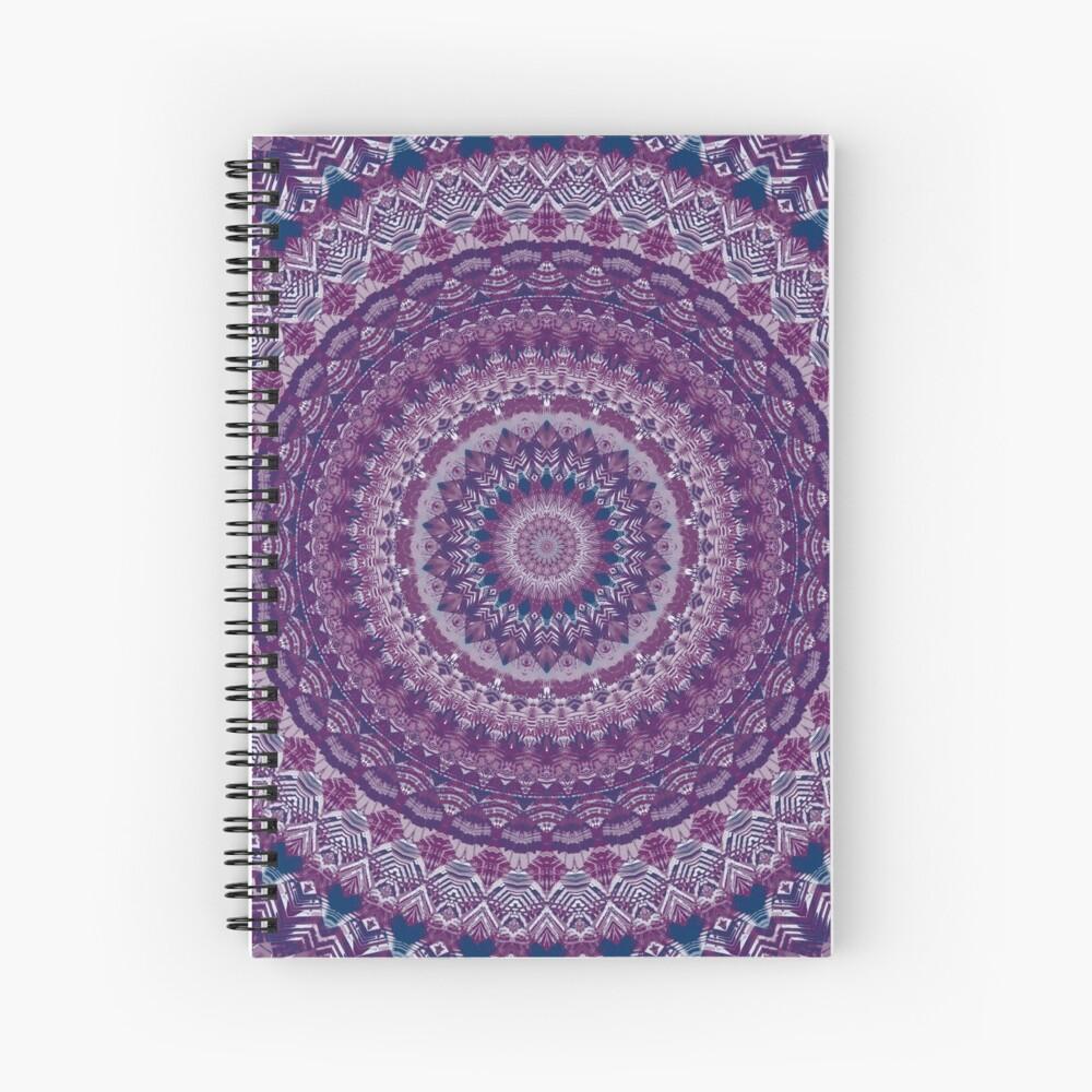 Mandala 123 Cuaderno de espiral