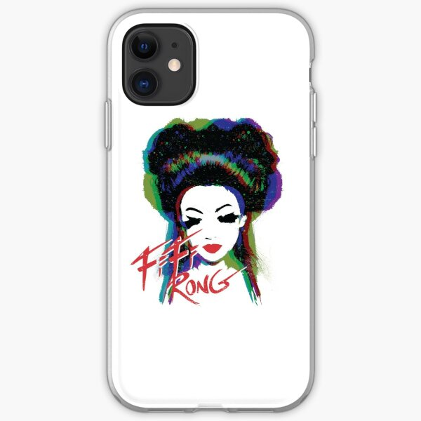Fifi Rong - designed by Walter Morataya iPhone Soft Case