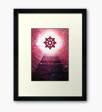 Buddhism (Wheel of Dharma) Framed Print