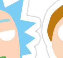 Rick and Morty Pop Art Sticker