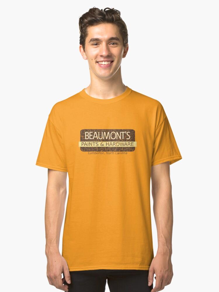 Beaumont's Paints & Hardware Classic T-Shirt Front