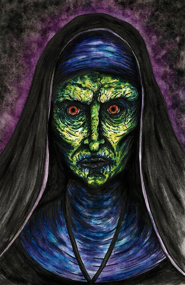 Demon Nun by shaylyngordon