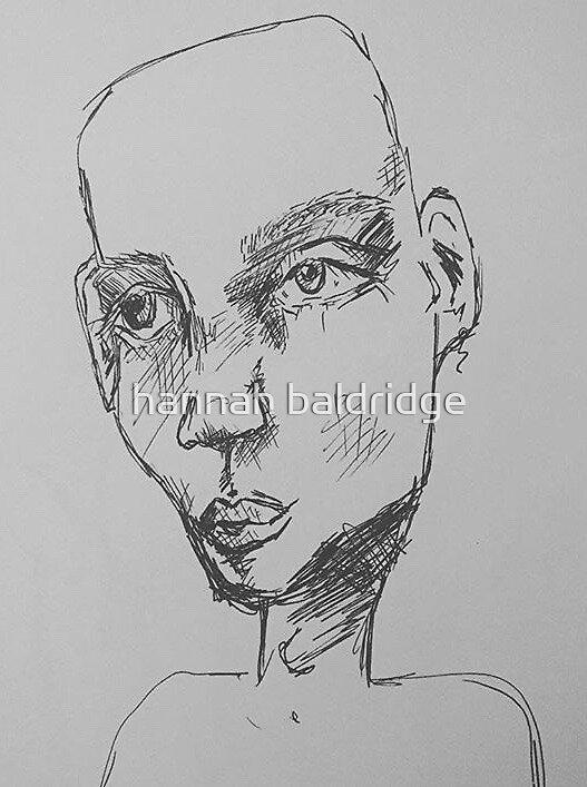 Bald Man by hannah baldridge
