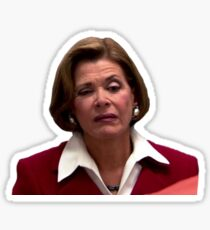 lucille bluth Sticker