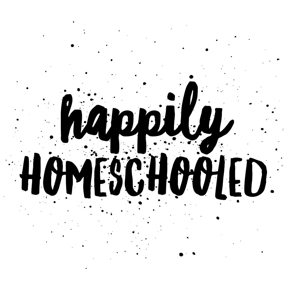 Happily Homeschooled paint by Nicki harvey