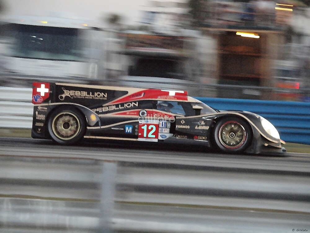 Sports Car at Sebring 12 Hours by gillfoto