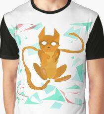 Geometry Cat Graphic T-Shirt