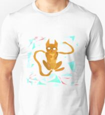 Geometry Cat Unisex T-Shirt