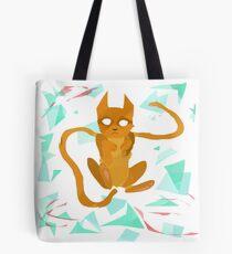 Geometry Cat Tote Bag