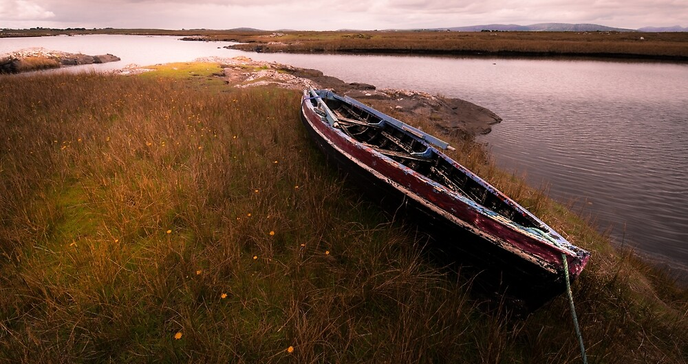 Connemara Boat by asthetik