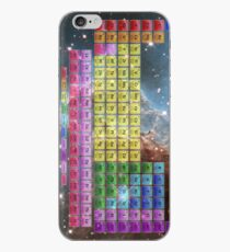 Starfield Periodic Table with 118 Element Names iPhone Case