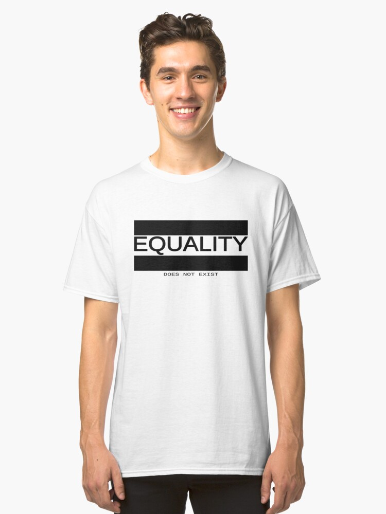 Equality Classic T-Shirt Front