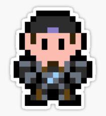 Pixel Marcus Fenix Sticker